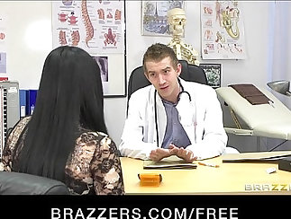 Busty chick Lita in anal with doctors