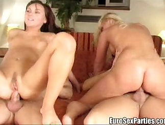 Caucasian thong fucks bitch while also waiting to audit orgy at roomm