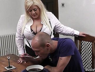 Blonde chick big tits stockings xxx Small Girl Problems