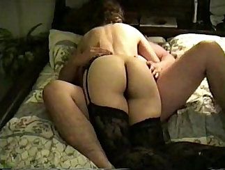 Curvy Wife Flashes Her Hairy Cunt For Real Fucking