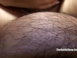 Classy Camgirl Very Hairy Pregnant Pussy Tickled