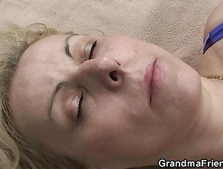 Blonde Sucks Chums Cocks And Gets Swallowed
