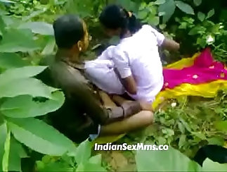 Unshaved Little Indian Does Handjobs For Young Guy