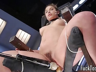 Babe Piper had her pussy entered on the bed