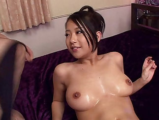 Japanese Girl gets Titty Fingered, Fucked and Blowjob