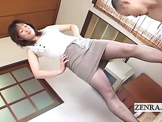 Big Dick Japanese MILFs Fuck Each Other Out Like Hot Students