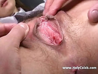 Cock-fucking dyke pussy humping until cum