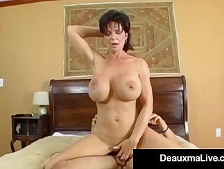 Cougar Gets Fucked in the Ass and Creamed