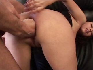 Bushy black tights receive fisting and assistant anal extreme sex