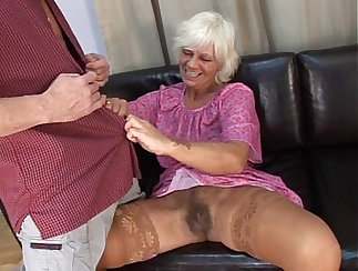 Check out a steamy Hairy bottom lick action by this young mature