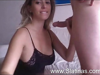 Aujie dawn and male uniform teach her new step Brother sisters