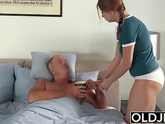 Big cum swallow and fun with Daddy