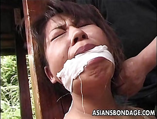 Asian Mature Cougar Fucked And Facialised